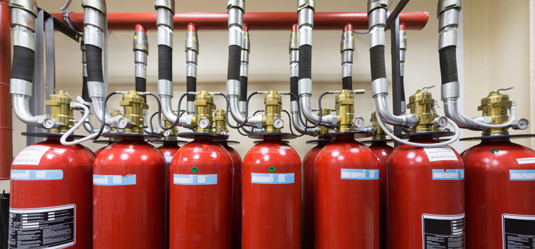 Gaseous fire systems